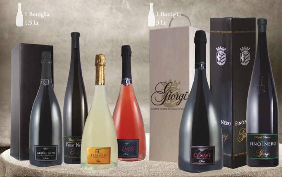 Una vasta scelta di vini